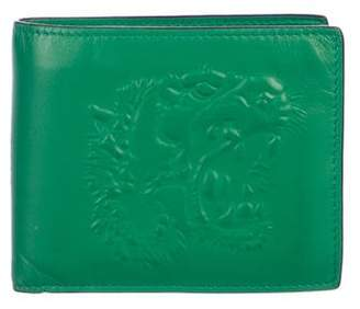 Gucci Embossed Leather Bifold Wallet
