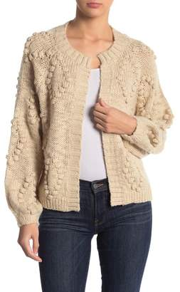 Lucky Brand Bobble Diamond Cardigan