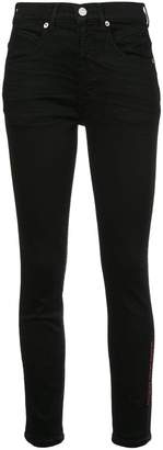 Adaptation seamed skinny jeans