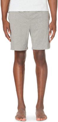 HUGO BOSS Branded stretch-cotton pyjama shorts