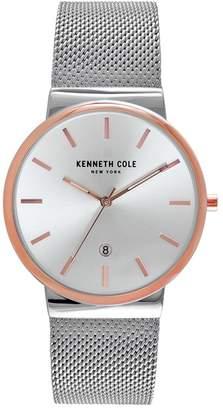 Kenneth Cole Men's Mesh Bracelet Watch, 42mm