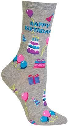 Hot Sox Women's Novelty Happy Birthday Socks