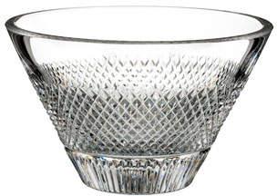 "Waterford Crystal Diamond Line Nut Bowl - 5"""