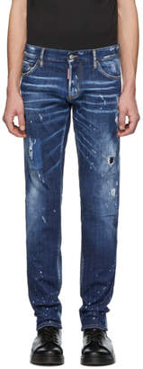 DSQUARED2 Blue Perfection Wash Slim Jeans