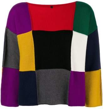 Pierantonio Gaspari Pierantoniogaspari patchwork sweater