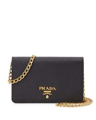 Prada Saffiano Lux Crossbody Bag, Black (Nero) $1,270 thestylecure.com