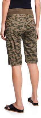 XCVI Camo Zola Bermuda Shorts