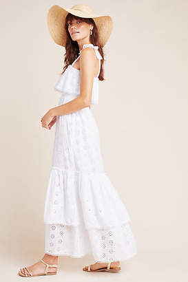 Steele Linnea Tiered Eyelet Maxi Dress