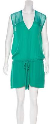 Mason Silk Sleeveless Romper