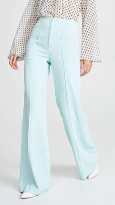 Alice + Olivia Dyland Clean Wide Leg Pants