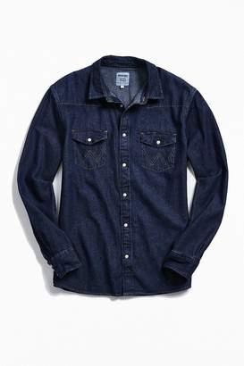 Wrangler Icons Rigid Denim Western Button-Down Shirt