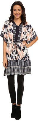 NIC+ZOE Tropical Tides Tunic $148 thestylecure.com