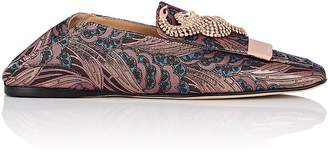 Sergio Rossi Women's SR1 Brocade Loafers