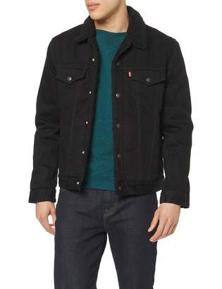 Levi's Men's Type 3 Sherpa Trucker Jacket