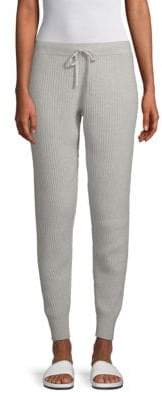 Saks Fifth Avenue Ribbed Cashmere Jogger Pants