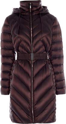Karen Millen Long Packable Puffer Jacket