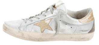 Golden Goose Superstar Distressed Sneakers