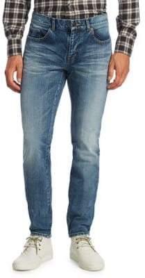 Saint Laurent Patch Pocket Skinny Jeans