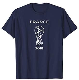 France World Soccer Russia 2018 Football Fan T-Shirt