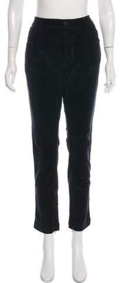 Dolce & Gabbana Corduroy Zip-Accented Skinny Jeans