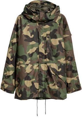 H&M Jacket with Raglan Sleeves - Green