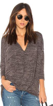 Bobi Heather Knotted Sweater