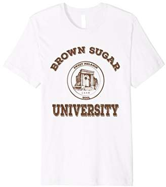 Brown Sugar University T-Shirt Black Love Pride tee