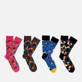 Happy Socks Men's Forest Gift Box - Multi - UK 7.5-11.5