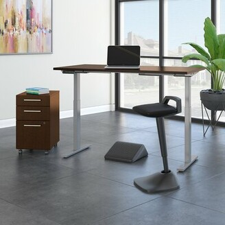 Möve Bush Business Furniture 60 Series Standing Desk and Chair Set Bush Business Furniture