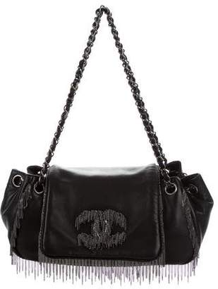 Chanel Chain Fringe Accordion Flap Bag