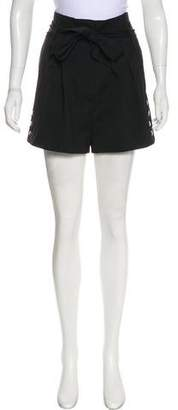 IRO Wool High-Rise Shorts