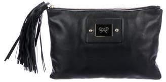 Anya Hindmarch Leather Faithful Clutch w/ Tags