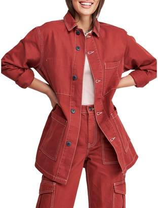 BDG Contrast Stitch Utility Jacket