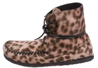 Etoile Isabel Marant Flavie Leopard Print Booties w/ Tags