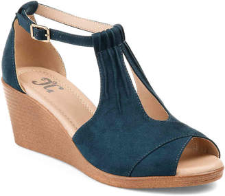 Journee Collection Kedzie Wedge Sandal - Women's