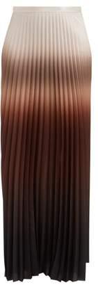 Max Mara Abatina Skirt - Womens - Brown Multi