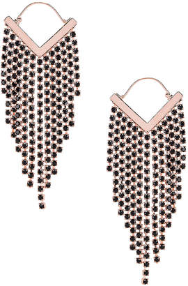 Isabel Marant Freak O Earrings in Black | FWRD