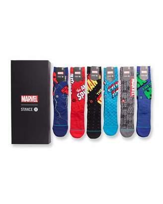 Stance Men's 6-Pack Marvel Sock Gift Set