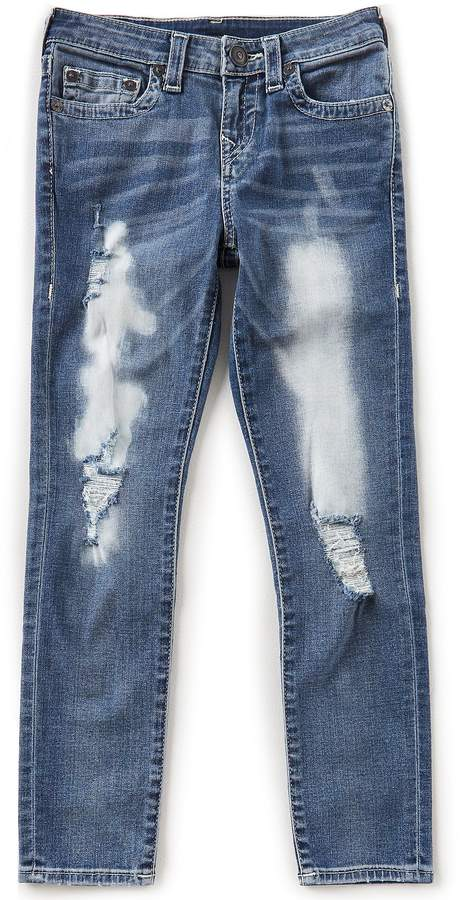 Big Boys 8-20 Rocco Destructed Denim Jeans