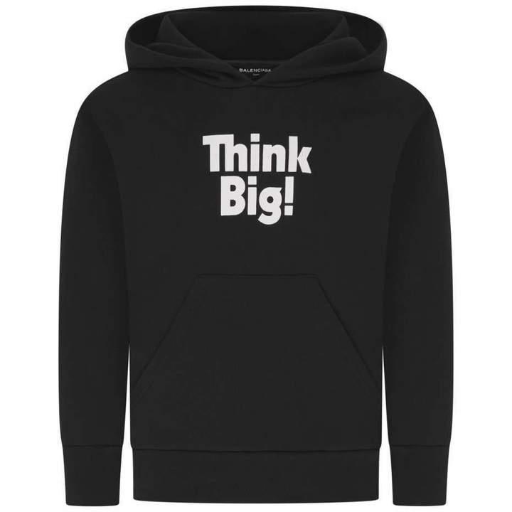 BalenciagaBlack Think Big! Hoodie