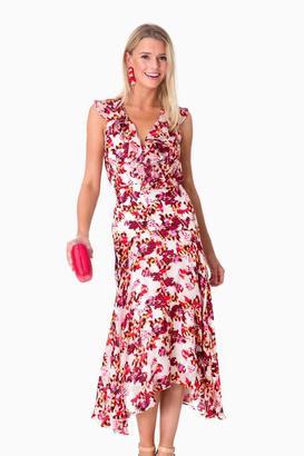 Saloni Naga Foliage Rita Dress $595 thestylecure.com