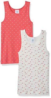 Sanetta Girl's Dp Shirt 334405 334406 Vest,Pack of 2