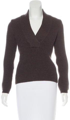 Tom FordTom Ford V-Neck Wool Sweater