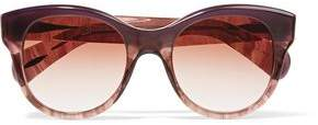 Oliver Peoples Jacey D-Frame Acetate Sunglasses