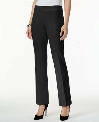 Alfani Straight Leg Pants, Only at Macy's $69.50 thestylecure.com