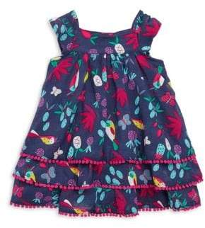 Catimini Baby's& Toddler's Tropical-Print Dress