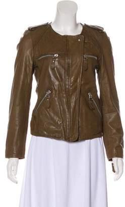 Etoile Isabel Marant Leather Moto Jacket