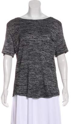 Rag & Bone Cold Shoulder Short Sleeve Top