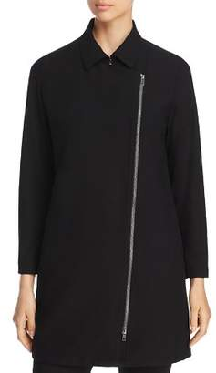 Eileen Fisher Asymmetric Zip Jacket