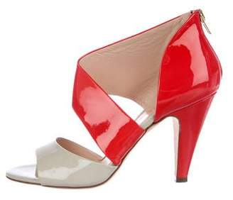 Loeffler Randall Genevive Patent Leather Sandals